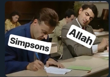 Simpsons and Allah